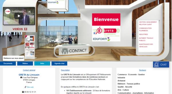 Du 14 au 16 janvier 2021 : Salon virtuel des études supérieures en Nouvelle-Aquitaine 1