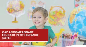 CAP Accompagnant Educatif Petite Enfance 1